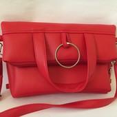 Вместительная модная сумка ( рюкзак )