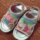 Мягкие сандалики Peppа Pig 16cм