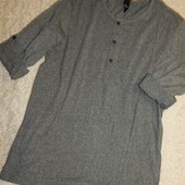 стильная мужская футболка , длинный рукав. в стиле хенли, от H&M.