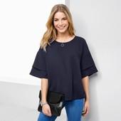 ☘ Стильна сорочка з тканою вставкою, Tchibo (Німеччина), наші розміри: 54-58 (48/50 євро)