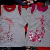 Супер лот!!! Красивое платьице для маленькой принцессы на 1-2 г.
