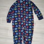 Слип пижама на мальчика 5-6лет замеры на фото