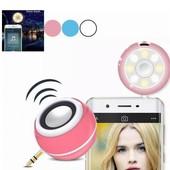 Динамик для смартфона телефона колонка селфи кольцо 2 в 1