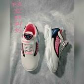 Белые кросовки для девочки