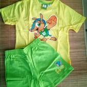 футболка + шорты пижама 4-6лет р.110-116 LIDL Германия