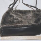 Стильная сумка из меха