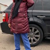 Зимнее пальто * холлофайбере&& теплое и легкое!!