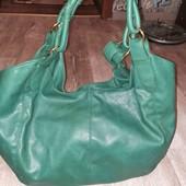 очень красивая кожаная сумка