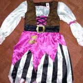 Классное платье Пиратка 7-9л от Serious Fun