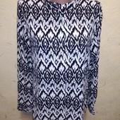 Интересная блуза рубашка 12/40 размера.