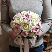 Букет дублер для свадьбы из роз