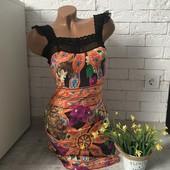 Шикарное платье, размер 46-48.