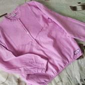 Красивая нежная рубашечка на девочку ростом 128-134+кофта состояние отличное.