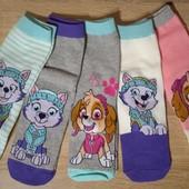 Disney.Набор 5 пар носочков для девочки размер 31/34