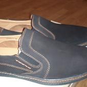Стильные качественные мокасины-туфли