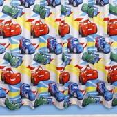 Шторы тачки от pixar 168*140 см 2 шт