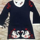 платье вязаное шикарный вид