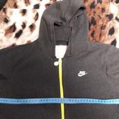 Классная теплая мастерка Nike на флисе 8-11лет смотрите замеры