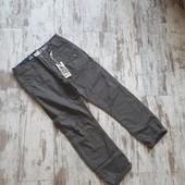 Фирменные брюки плотный мягкий коттон' хб подклад весна осень р158 96/68