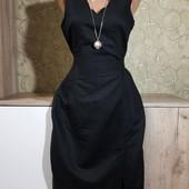 Собираем лоты!!! Красивое платье, размер 38/40,55%лен, 45%котон