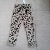 Блиц-цена! Классные флисовые штанишки от Рерсо! Рост 116 на 5-6 лет Замеры!