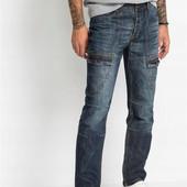 Стильные, качественные, фирменные джинсы. р-р: eu 30. новые. описание