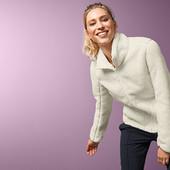 Шикарная двухсторонняя тепленькая плюшевая куртка от Tchibo(Германия), размер S