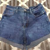 Отличные джинсовые шорты, стрейчевые, М. Состояние отличное