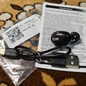 Наушник сенсорный, Super mini wireless bass headset Bluetooth 5.0
