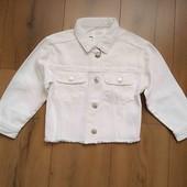 Джинсовая курточка Zara для девочки 5-6 лет