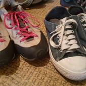 Кроссовки и кеды 36 размер. одним лотом.