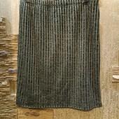 Шикарная нарядная чёрно-золотая юбка с люрексом на подкладе Новая Акция читайте