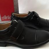 Туфли черные для мальчика фирма Аrial Ариалр-р 35, 37,38.Качество проверенное!!!