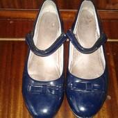 Туфли школьные размер 36 по стельке 23 см