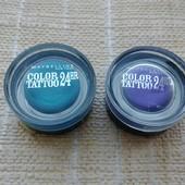 1 на выбор)Тени кремовые Maybelline color tatoo оригинал