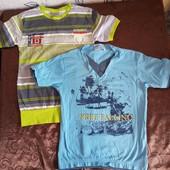 2 новых футболки одним лотом. На 5-6 лет