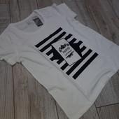 Нюанс!! Белая футболочка от Esmara 100% хлопок!
