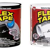 Водонепроницаемая изоляционная лента, скотч Flex Tape 100 мм х 1.5 м Белая