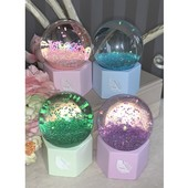 Стеклянный шар с подсветкой