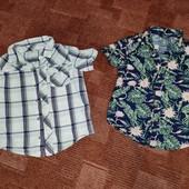 Ц рубашки одним лотом на 4-5л