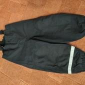 Теплые штаны H&m 3-4г