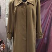 Красивое пальто большого размера тм RUTA из мягкого и теплого кашемира размер 54-56, смотрите замеры