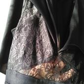 Asos uk10/M красивое вечернее платье с пелериной, юбка гофре