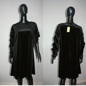 Качество! Бархатное платье от бренда Capsule, р. 20+-