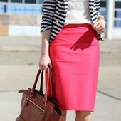 Красивая и яркая миди юбка Top Secret