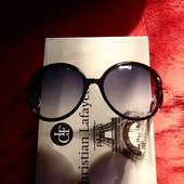 Солнцезащитные очки Alese Оправа с переходом цвета сине-фиолетовый-темно серый. UV400
