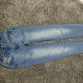 Люкс! стильные джинсы рост 146 см 10/11 лет хорошего сост