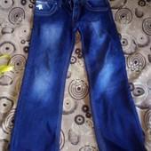 джинсы на флисе 33р.