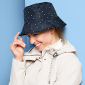 Шикарная двусторонняя шляпа от дождя от Tchibo (германия) размер универсальный