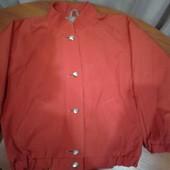 Куртка-ветровка для девочки 4- 6 лет замеры
